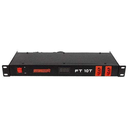Filtro de Linha VOX FT 10T VOXTRON By Techaudio 10 Tomadas 5000 Watts com Voltimetro
