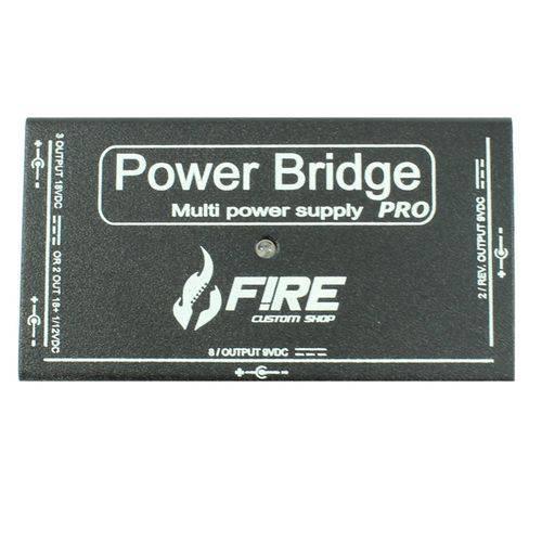 Fire - Fonte para Pedais Power Bridge Pro Bk