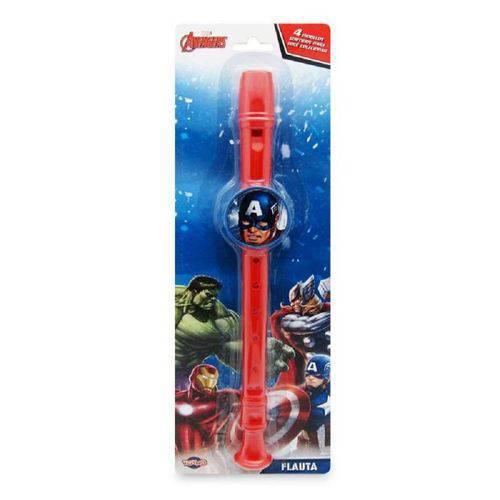 Flauta Capitão America Vingadores Marvel - Toyng 27510