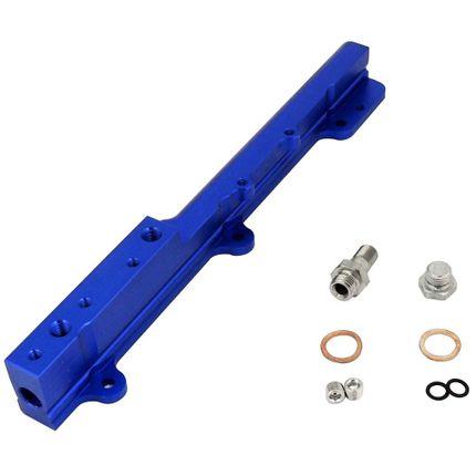 Flauta de Combustível Billet para Honda B16 (1.6L DOHC) Azul
