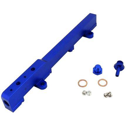Flauta de Combustível Billet para Honda Civic Motor K20 - Azul Azul