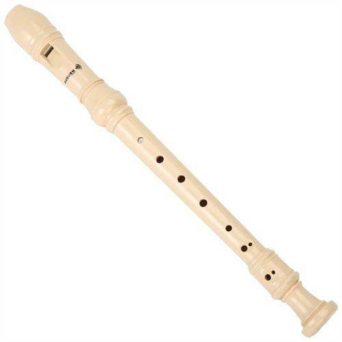 Flauta Doce Germânica Bege Aubfd12 Auburn