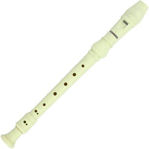 Flauta Doce Germanica Descant Ivory - Hohner