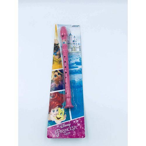 Flauta Doce Musical Princesas Etitoys