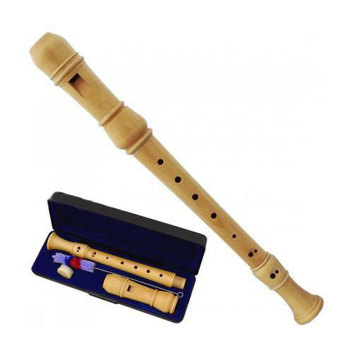Flauta Doce Schieffer - Madeira - Sistema Germanica #SCHFD-G