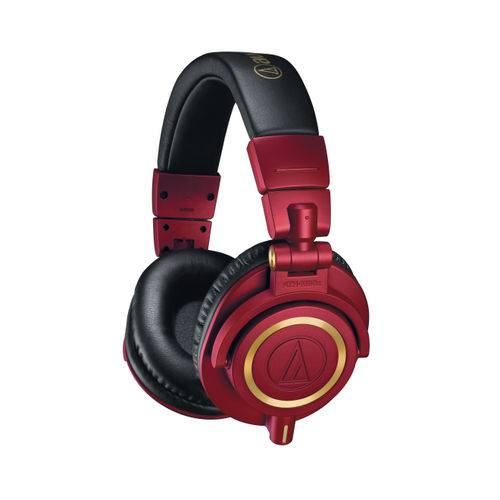 Fone Audiotechnica Ath-M50xrd Edição Especial DJ Profissional