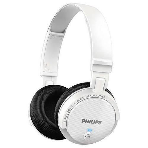 Fone Bt Philips Shb-5500wt Wir C Mic Bra