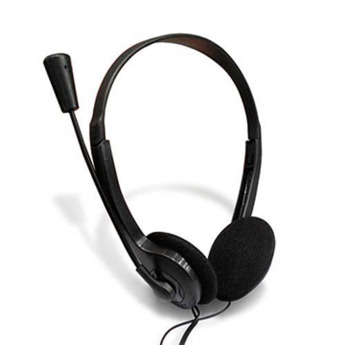 Fone de Ouvido com Microfone C3tech Preto