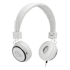 Fone de Ouvido com Microfone Headfun Branco P2 - Ph087
