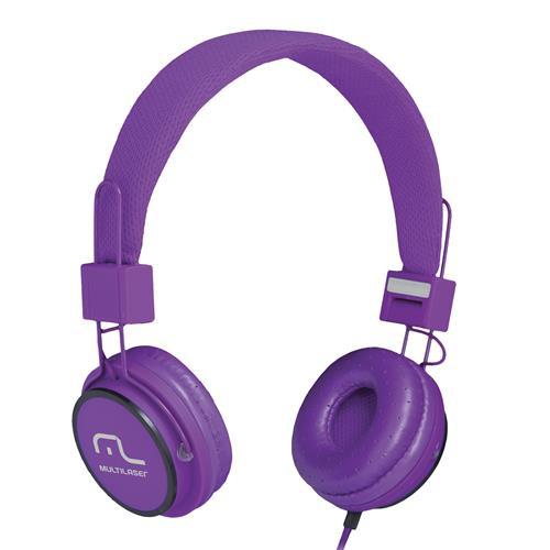 Fone de Ouvido Headphone Fun Roxo Multilaser - PH090
