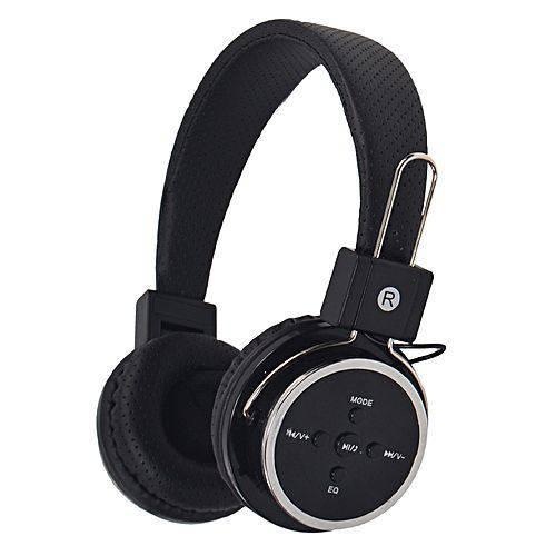 Fone de Ouvido Sem Fio Bluetooth e Sd Mex B-05 - Preto