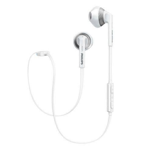 Fone Philips Hb-5250wt Bt/mic/peq Branco