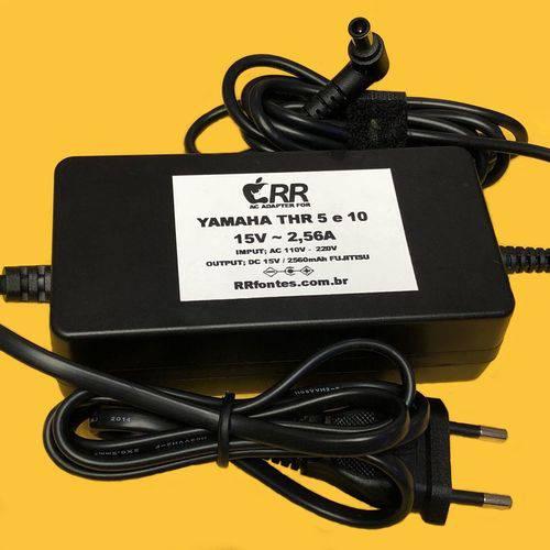 Fonte Carregador 15v 2,56a para Amplificador Yamaha V2 Thr5 Thr5a Thr10 Thr10c Thr10X Eadp-38eb
