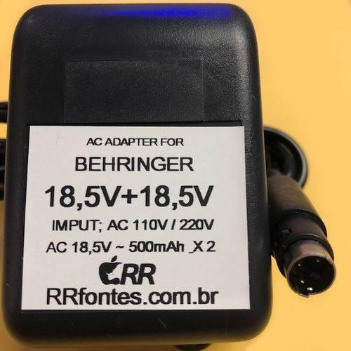 Fonte Carregador 18.5V para Mixer Mesa de Som Behringer