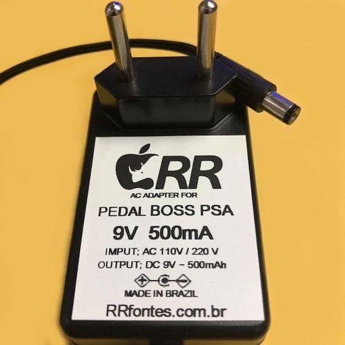Fonte Carregador 9v para Pedal Boss Super Octave Oc 3 Oc3 Oitavador