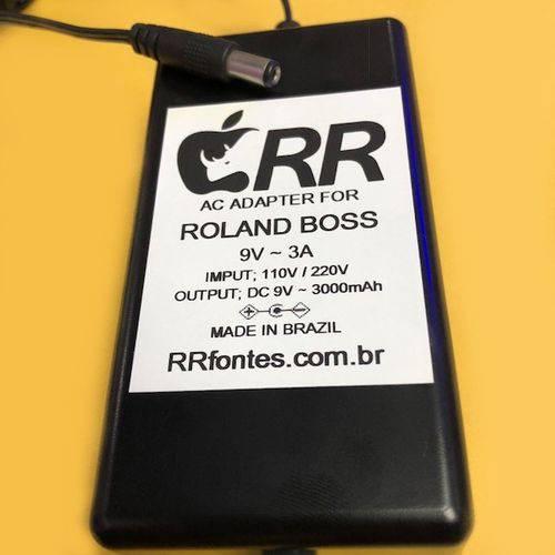 Fonte Carregador 9v 3a para Roland Juno D Boss Gw-8 Bivolt