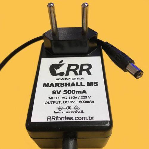 Fonte Carregador 9v Compativel Mini Amplificador Marshall Ms2 Ms4 Ate 5w