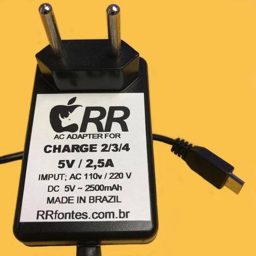 Fonte Carregador Compativel com Caixa de Som Dock´s Charge 2 de 5v e 2,3a Bivolt