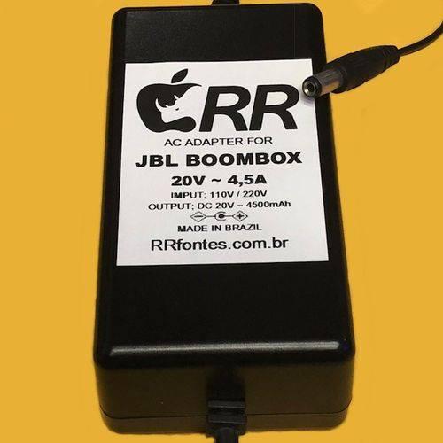 Fonte Carregador Compativel com Caixa de Som Speaker Boombox com Bluetooth Wifi 20v 4,5a Wi-Fi
