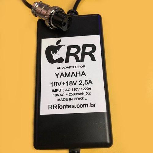 Fonte Carregador para Mesa de Som Mixer Yamaha 18v 2a Bivolt