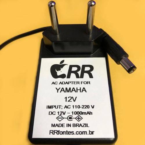 Fonte Carregador para Teclado Yamaha 12v 1A para Modelos PSR Bivolt