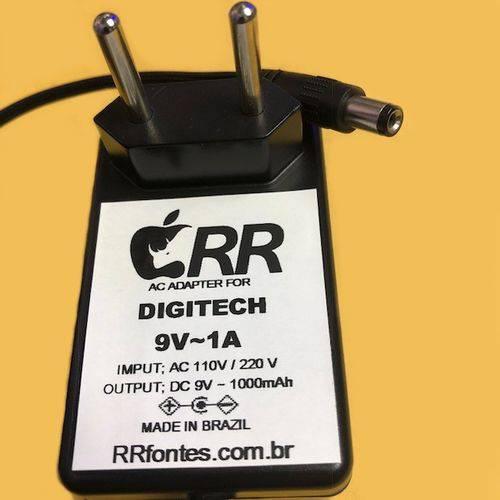 Fonte Compatível com Pedal Pedaleira Efeito Digitech Multi Voice Chorus Xmc 9V