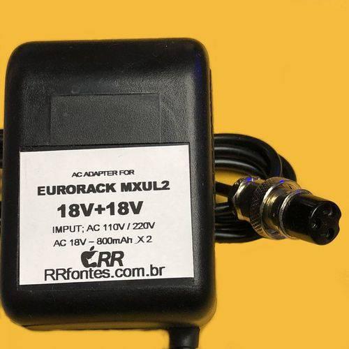 Fonte de Alimentacao Carregador Ac 18v 18V para Eurorack Mxul2 Mx802a Mx-802a