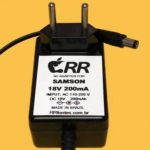 Fonte Energia para Amplificadores Samson Acd1000 S-AMP S-MONITOR S-PHANTOM S-CONVERT e Demais 18v
