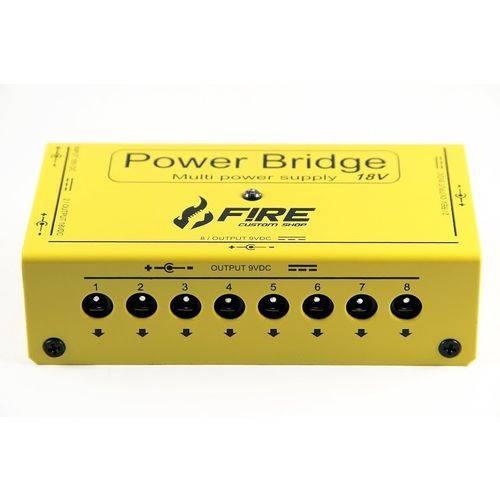 Fonte Fire Power Bridge 18v Amarela