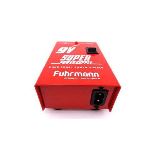 FONTE FUHRMANN SUPER POWER SUPPLY 9V 500mA 110/220 AUTOMATICA FT500A