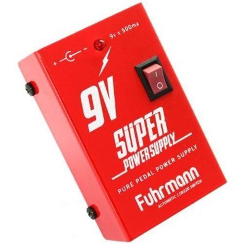 Fonte Fuhrmann Super Power Supply 9v P/ 6 Pedais