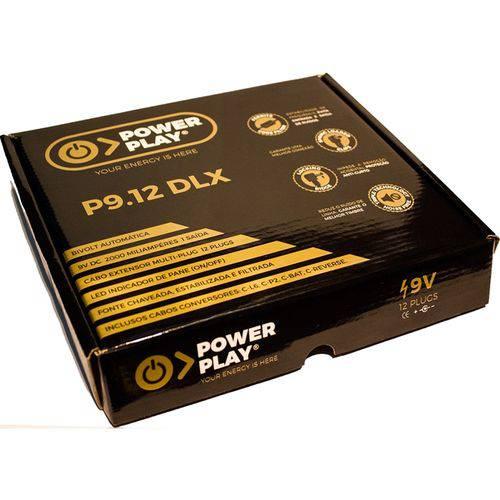 Fonte Power Play Power 9v 2000ma P9.5 P/ 5 Pedais