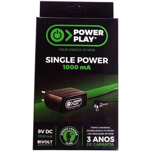 Fonte Power Play Single Power 9v 1000ma