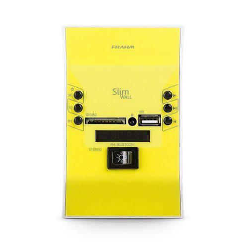 Frahm - Amplificador Slim Wall 31449 Amarelo