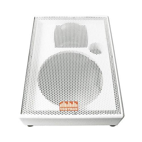 Gabinete Vazio Branco para Monitor (palco ou Retorno) 2 Vias Falante 12pol + Corneta GAB MON VOX 460