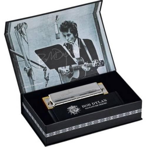 Gaita de Boca Bob Dylan (.C ) Dó em Madeira M589016 Hohner
