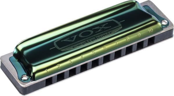 Gaita Harmonica Continental Vox Vch-1-D Green