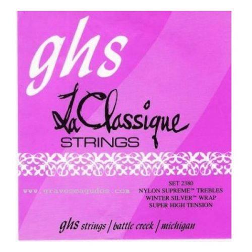 Ghs - Encordoamento La Classique para Violão 2380