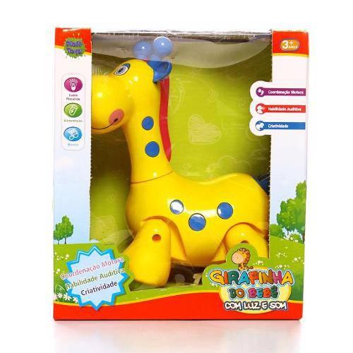 Girafinha do Bebê com Luz e Som Ploft Pb0149