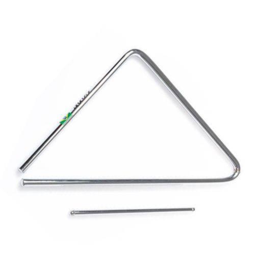 """Gope - Triangulo Aço Cromador 17""""x43cm Forrozão 830"""