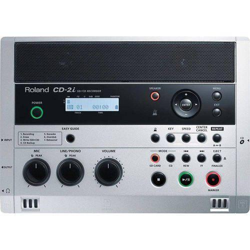 Gravador Cd Externo Roland Cd-2i