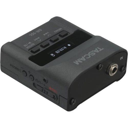 Gravador de Áudio com Lapela Tascam Dr-10l