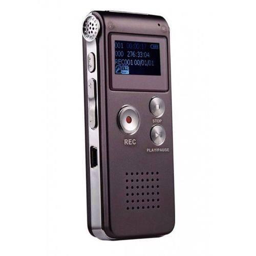 Gravador de Voz Digital Espião Grava Até 6 Dias Direto Rc609