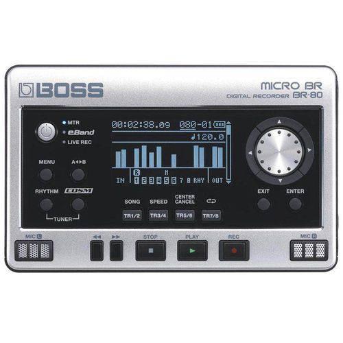 Gravador Digital Br80 - Boss