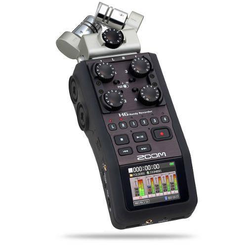 Gravador Digital de Audio Voz Zoom H6