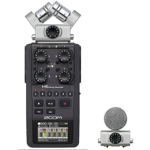 Gravador Zoom H4n Pro Handy Recorder