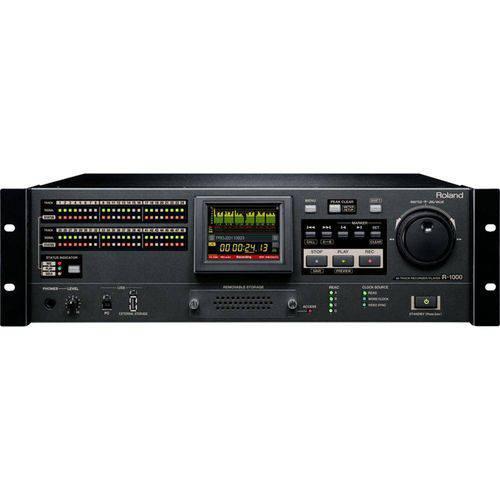 Gravador e Reprodutor de Áudio de 48 Pistas R-1000 - Roland