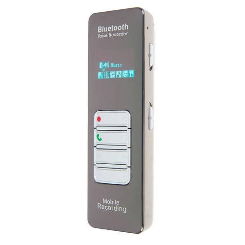 Gravador Espião 4GB com Microfone para Gravar a Distancia