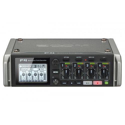 Gravador Multi-faixa Zoom F4