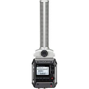 Gravador Zoom F1-SP Field com Microfone Shotgun